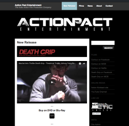 Action Pact Entertainment site