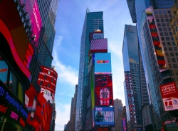 The Sky but for Times Square