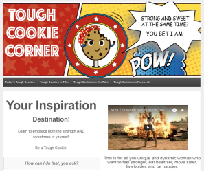 Tough Cookie Corner site